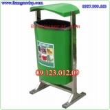 Thùng rác composite 80 lít thùng rác nhựa composite