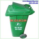 Thùng rác nhựa HDPE 140 lít