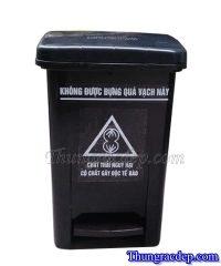 Thùng rác nhựa 20 lít màu đen