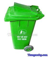 Thùng rác MGB140 - Thùng đựng rác nhựa mgb140