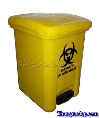 Thùng rác nhựa đạp chân MGB015