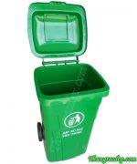 Thùng rác 150 lít nhựa HDPE